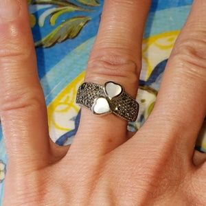 25% OFF 2+ | Vintage Pearl/Marcasite Cocktail Ring